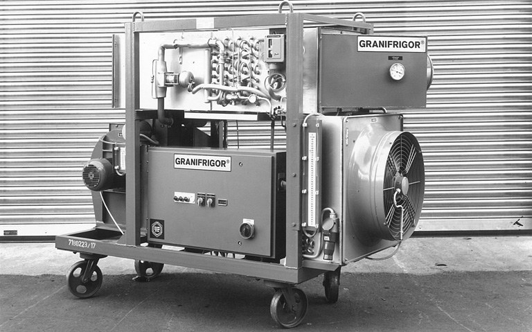 The first GRANIFRIGOR™ KK 30L from the 1960ies